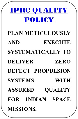 IPRC Quality Policy English